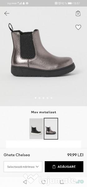 pret ieftin vânzarea de încălțăminte o selecție uriașă de Ghetuțe copii noi H&M, 100 lei - Lajumate.ro