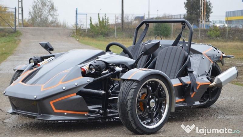 Car Triker Ztr 250cc Legal-City Nou,Garantie Culoare:Gri ...