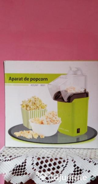 Aparat popcorn fara ulei