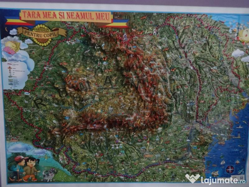 Harti 3d Copii Romania Rep Moldova ţara Mea Si Neamul Meu 280