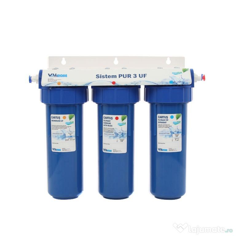 Sistem de ultrafiltrare a apei potabile in 3 trepte PUR 3 UF