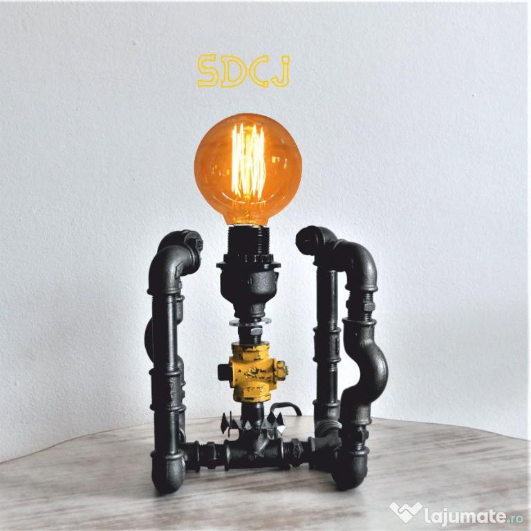 Lampa cub steampunkdesigncj, lampa steampunk