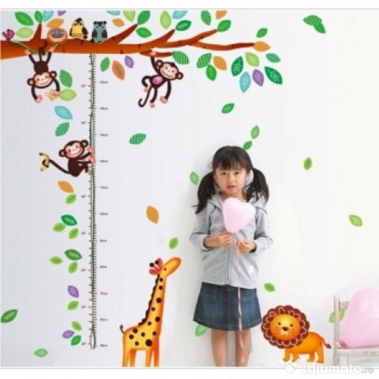 Sticker Decorativ, Masuratoare Cu Maimutele 180 Cm, 69STK