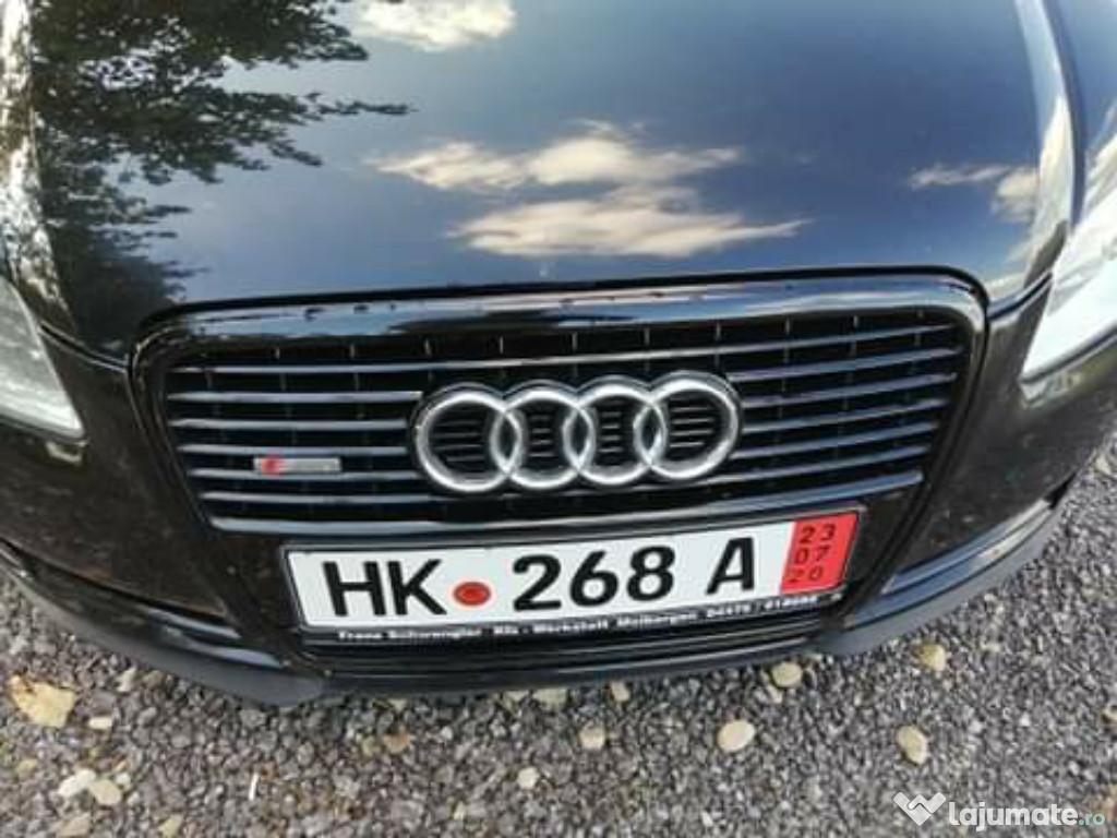 Audi a 4 recent germania pe roti Carte service