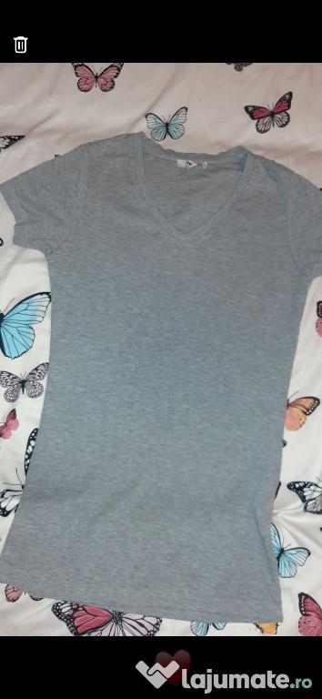 Tricou gri damă Koton