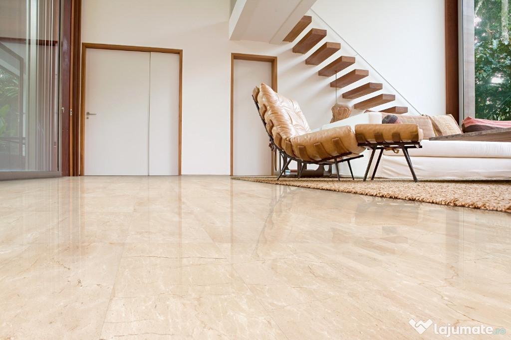Placari interioare marmura Pearl Cream 30.5X45.7X1.3