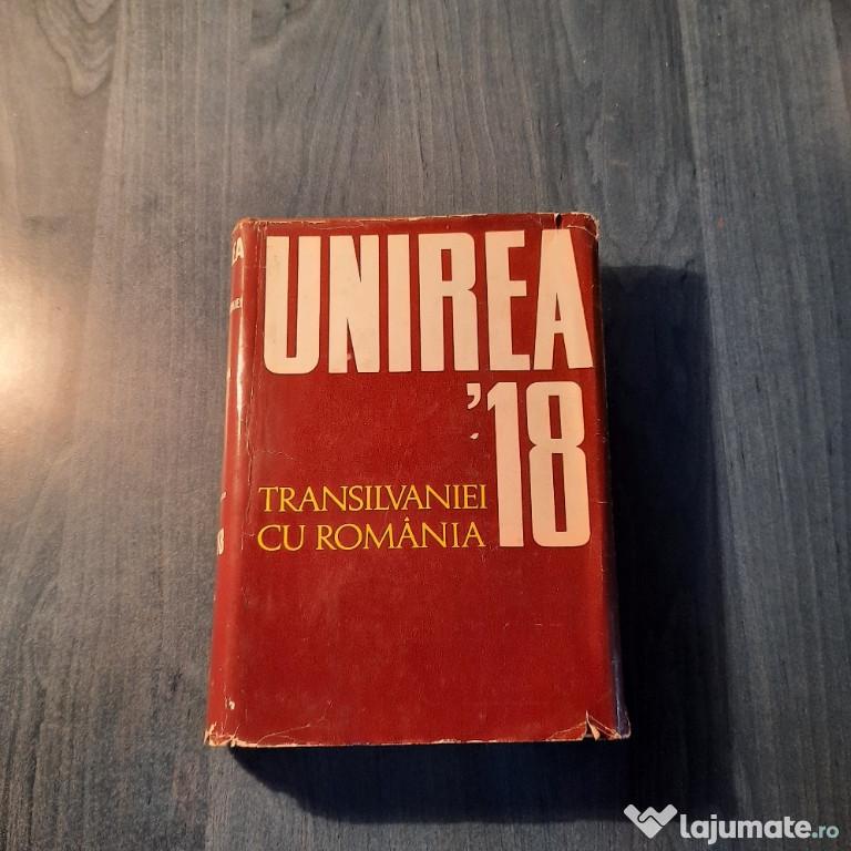 Unirea Transilvaniei cu Romania 1 decembrie 1918 Marin Badea
