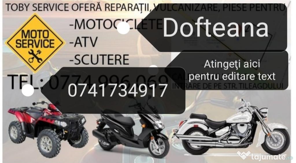 Reparati scutere atv drujbe motocositoare Dofteana