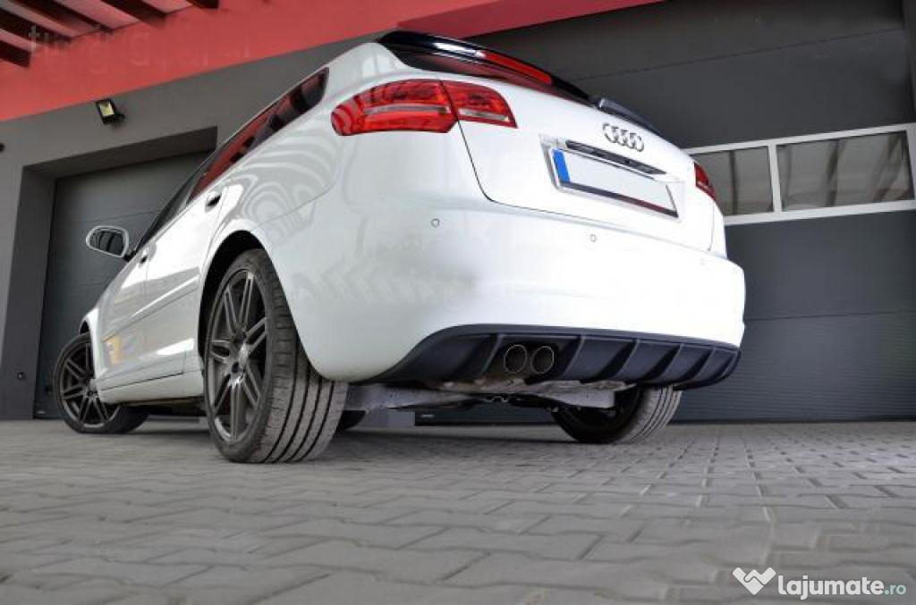Difuzor bara spate Audi A3 8P Coupe Sportback Facelift Rs3