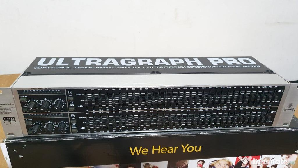 Eq Behringer (egalizor) Ultragraph Pro FBQ3102