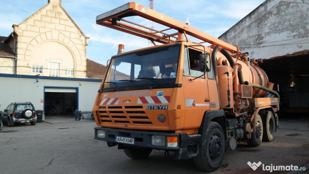 Steyr Vidanja 22S28 - an 1992, 9.000 (Diesel)