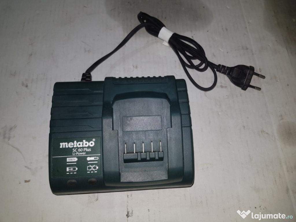 Incarcator METABO SC 60 plus 18v
