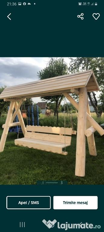 Executam lucrări din lemn masiv