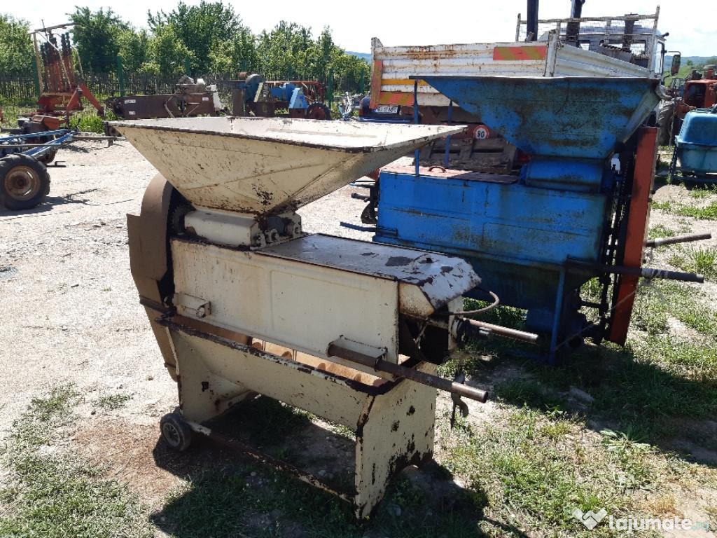 Zdrobitor struguri dupa tractor