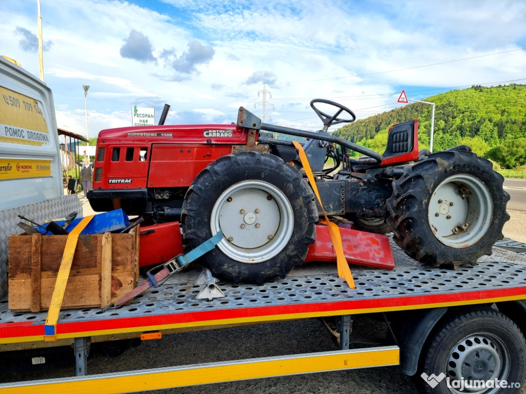 Tractor 4x4 articulat Antonio Carraro Supertigre 5500 defect