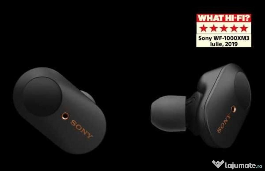 Sony WF1000XM3B Casti in-ear portabile