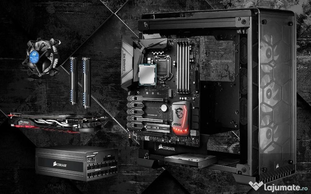 Instalare,montare,cable management PC la domiciliu