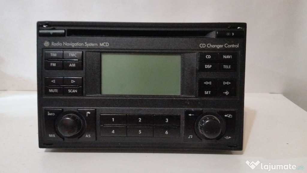 Radio Cd Player Navi OEM Volkswagen MCD Skoda Seat