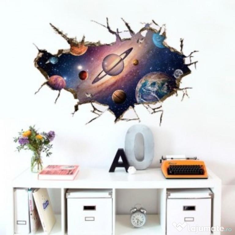 Sticker Decorativ, Gaura In Perete Spre Cosmos 68STK
