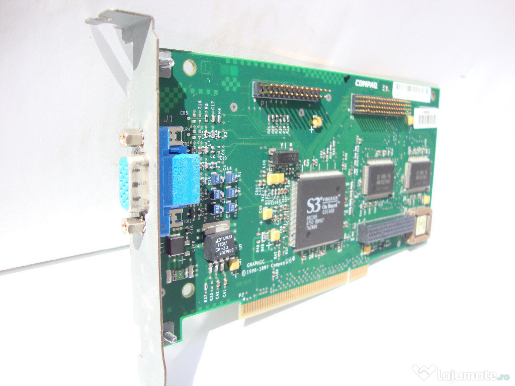 Placa video Compaq 006916-001, PCI, 2MB