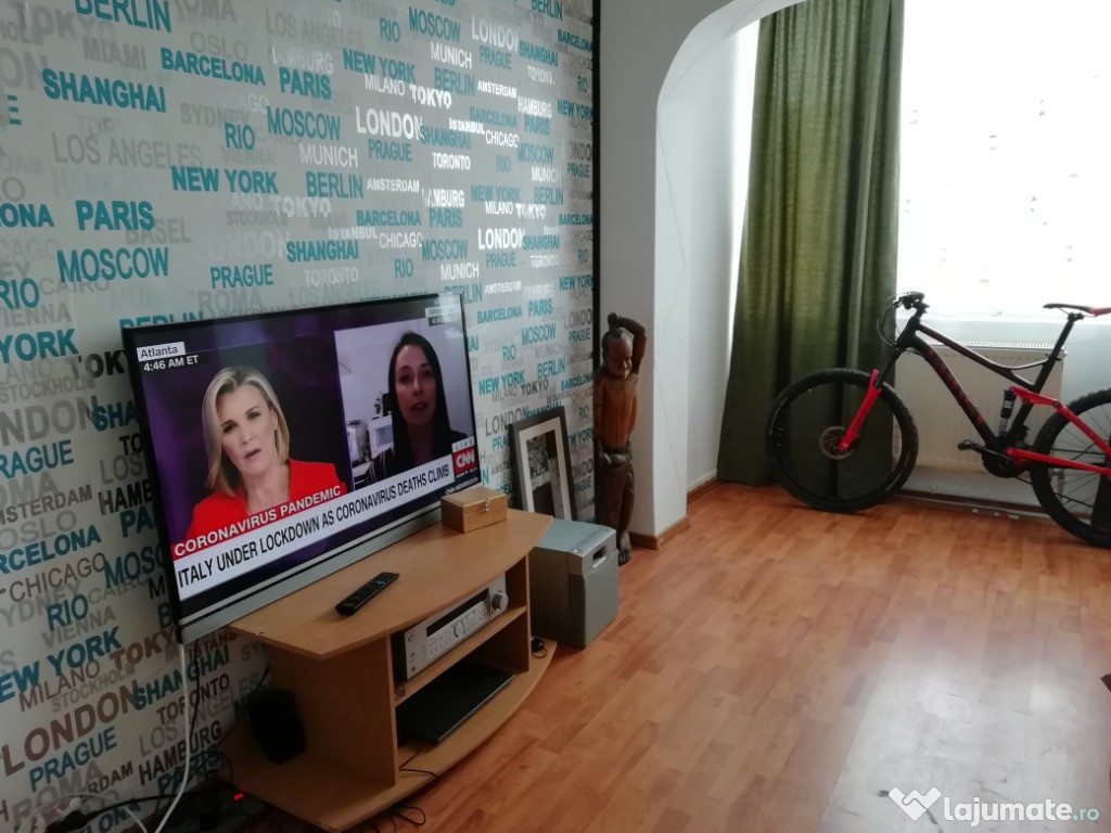 Apartament 2 camere decomandat/mobilat