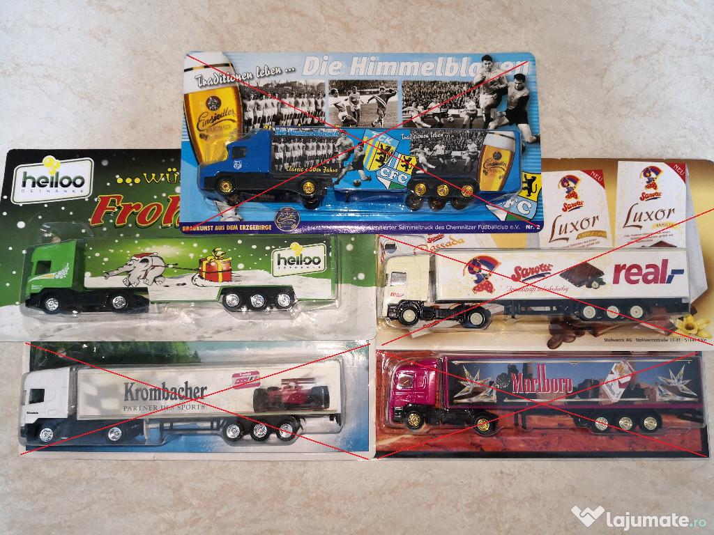 Machete camioane Scania scara 1:87 / Macheta camion