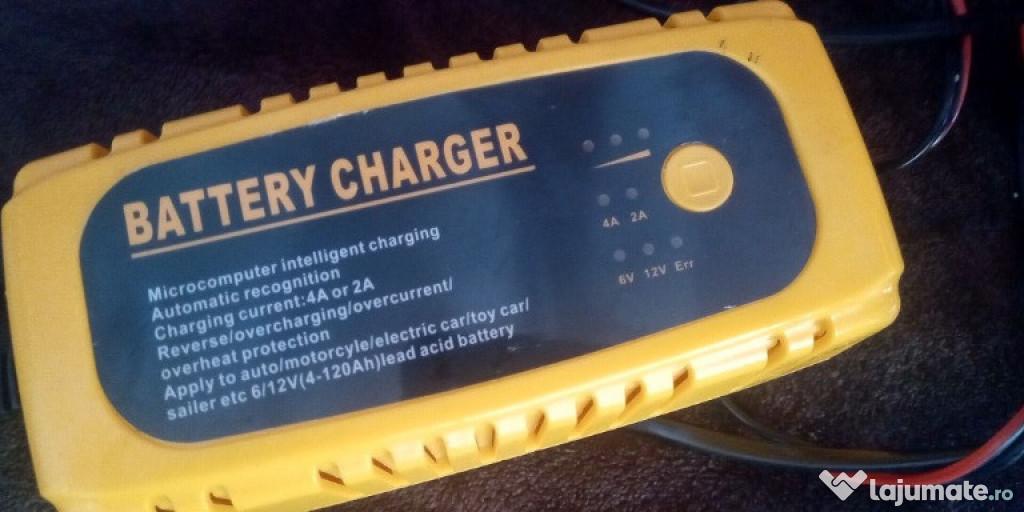 Incarcator baterii auto moto max 120Ah Incarcator acumulator