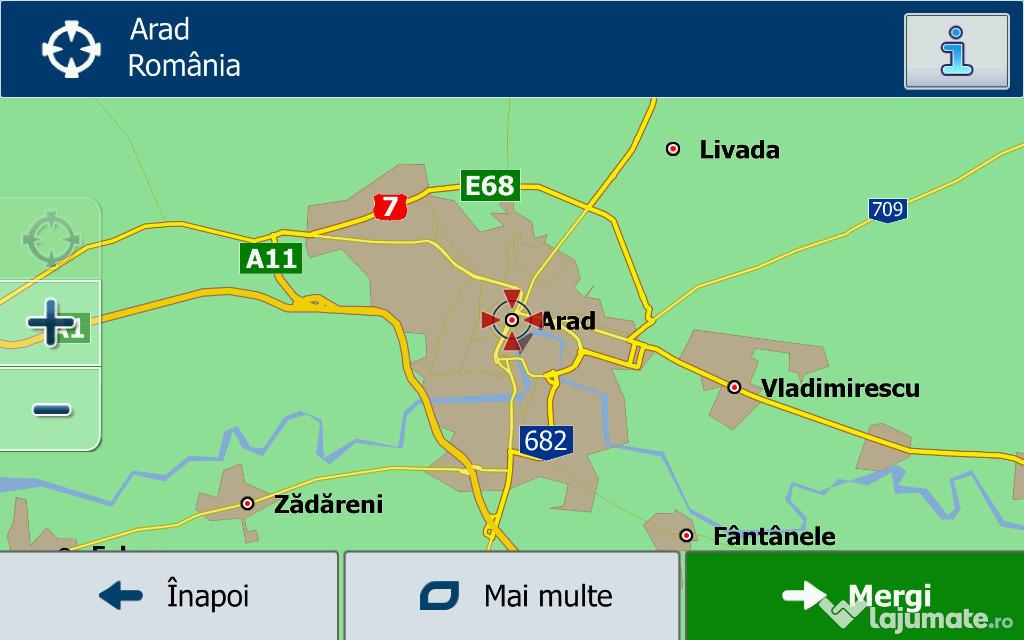 Hărți gps resoftari instalare actualizare iGO Primo camion