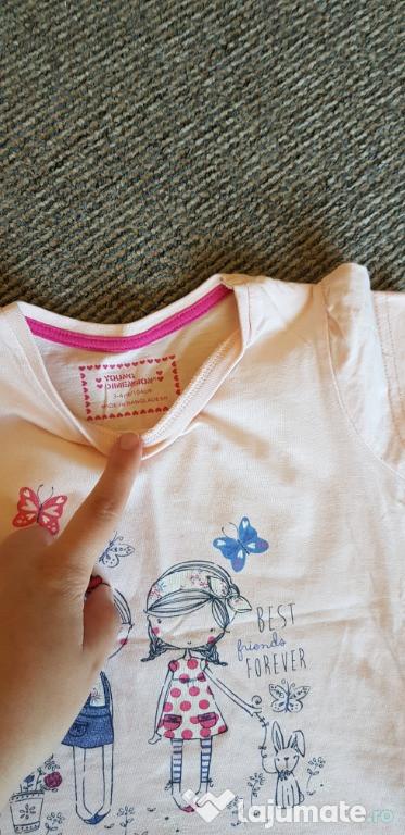 Tricouri fete 3-4 ani