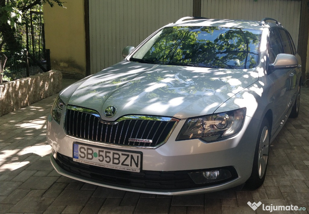 Skoda Superb Combi 1.6 TDI Greenline Ambition Navi, 2014