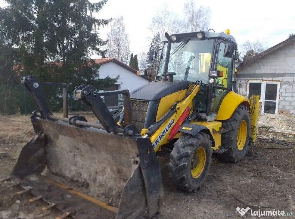 Buldoexcavator New Holland B90B