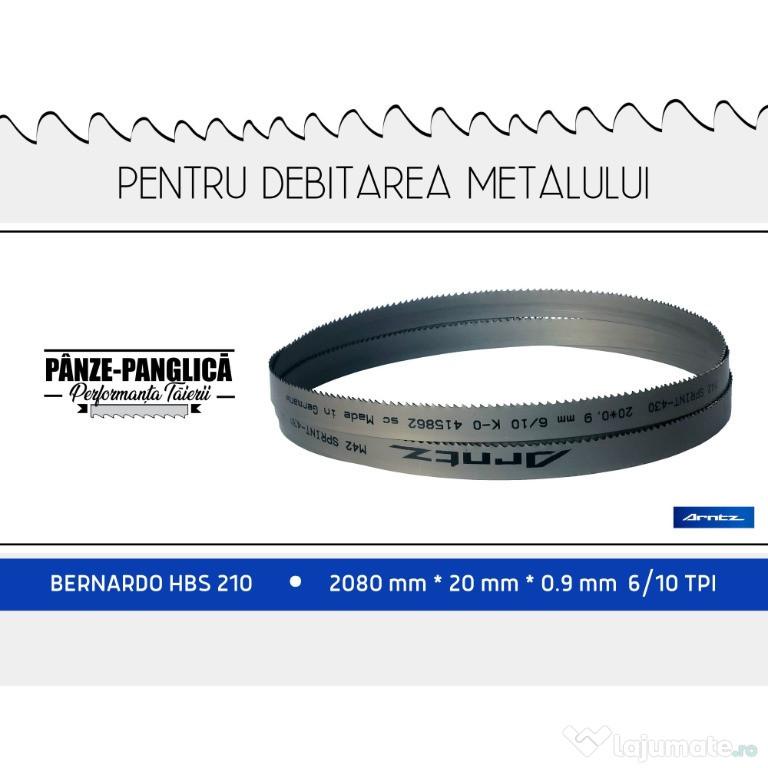 Fierastrau panglica metal 2080x20x0.9x6/10 Bernardo Hbs 210
