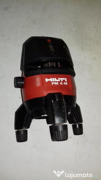 Nivela laser cu lini HILTI PM 4 M
