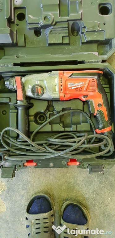 Percutanta Milwaukee PH 26 T functionala