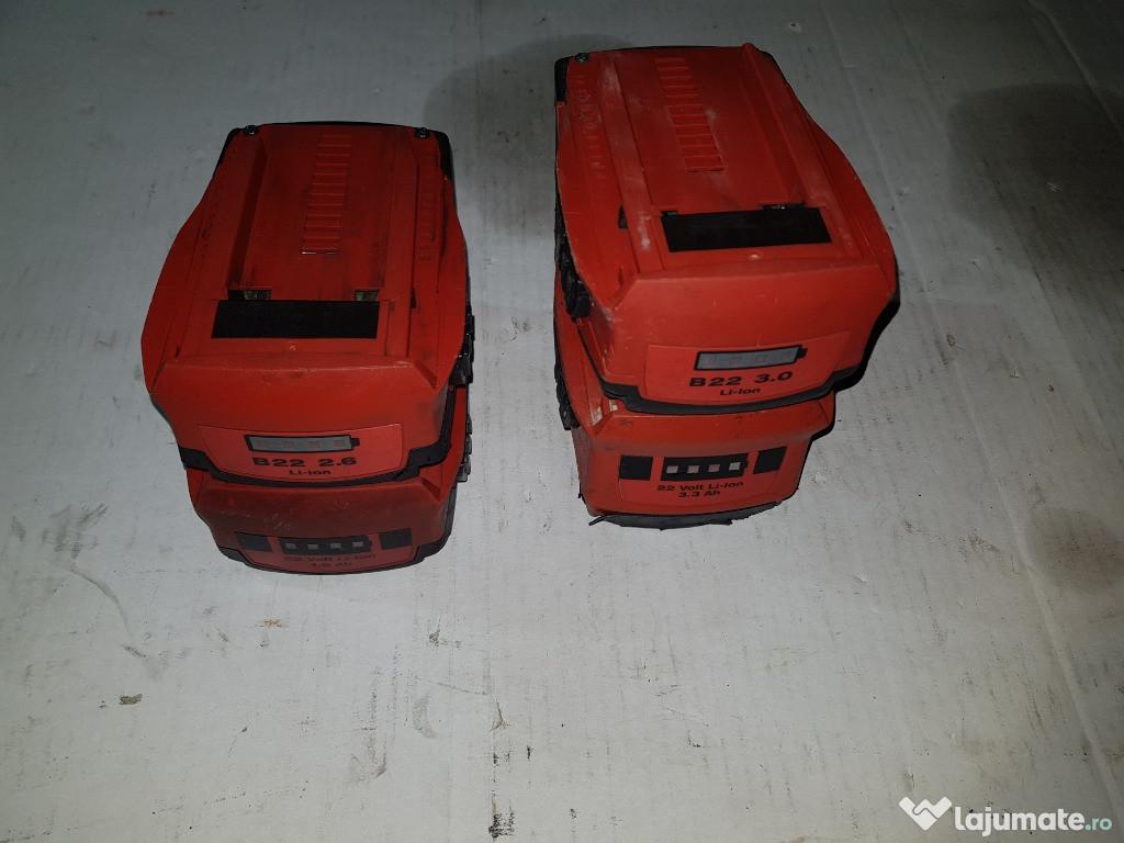 Acumulator baterie incaractor C4 36 HILTI B 22- 2,6 ah 3,3 3
