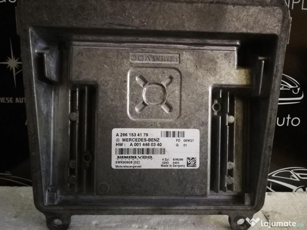 Ecu calculator motor Mercedes a class w169 1.5 A2661534179