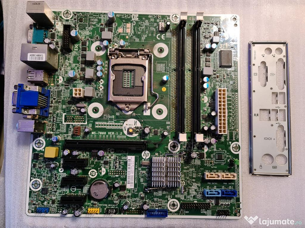 Placa de baza HP ProDesk MS-7860, LGA1150, Intel H81, DDR3,