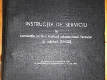 1990 - Instructia de serviciu la conventia traficului CFR