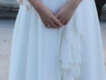 Rochie de mireasa + voal din tull