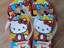 Papuci Ipanema Hello Kitty