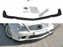 Prelungire splitter bara fata Mercedes CLS C219 55AMG v2
