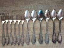 Set tacamuri rusesti argintate (stil Rococo)