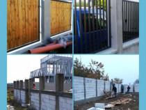 Facem garduri și porți