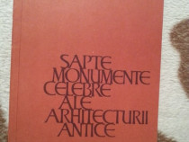 Sapte monumente celebre ale arhitecturii antice-Chitulescu