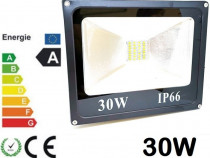 Proiector LED 30W Slim Echivalent 300W Proiectoare Exterior
