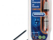 Cablu extensie USB Tata-Mama 2.0m, Bandridge BCL4302