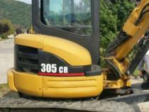 Miniexcavator cat 305 cr