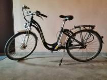 Bicicleta electrică e-city