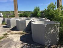 Tuburi fantana, pavaje, spalieri vie,prefabricate beton