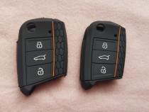 Husa Silicon Cheie Skoda Octavia,VW Passat B8,Golf 7,Polo